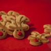Kerstkoekjes: Rudolph the rednose reindeer