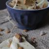 Witte chocolade kruidnoten bark
