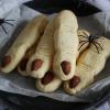 Zombie vinger koekjes
