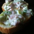 Ham prei salade