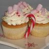 Kerst kopjes cupcakes