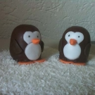Choco zoenen pinguïns
