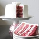 Pink ombre taart