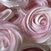 Rozen meringues