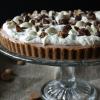 Chocolademelk & pepernoten taart