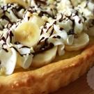 Bananensplit vlaai