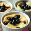 Mini cheesecake met bosbessen