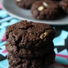 Chocolade amandel koeken