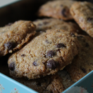 Hazelnoot chocolate chip koekjes