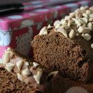 Ontbijtkoek met honing en noten