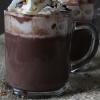 Hazelnoot chocolademelk