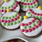 Kerstbal koekjes