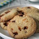 Knapperige caramel koekjes
