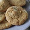 Macadamia en witte chocolade koekjes