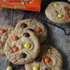 Reeses pieces koekjes