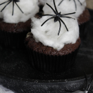 Spinnenweb cupcakes