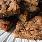 Appel kaneel blondies