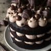 Chocolade deluxe taart