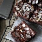 Glutenvrije kokosmeel brownies