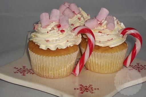 Kerst kopjes cupcakes handmade helen for Decoratie cupcakes