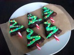 kerstboom-brownies