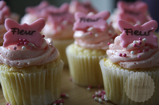 It S A Girl Vanille Cupcakes Handmade Helen