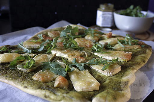 Brie pizza | HandmadeHelen