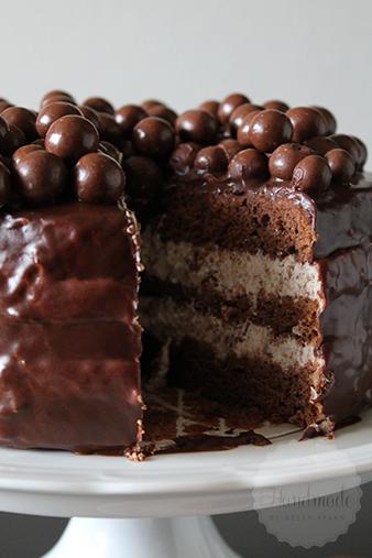 Iets Nieuws Luchtige chocolade malteser taart - Handmade Helen &LI97