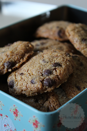 Hazelnoot chocolate chip cookies | HandmadeHelen