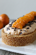 Sinaasappel bavaroise slof | HandmadeHelen