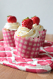 Aardbeien cupcakes | HandmadeHelen