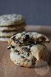 Chocolate chip roomkaas koekjes | HandmadeHelen