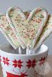 Candy cane lolly met witte chocolade | HandmadeHelen