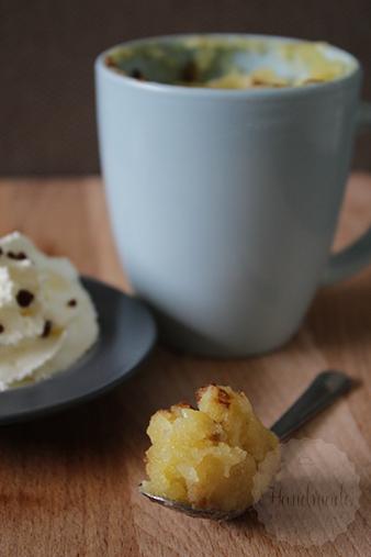 Peren kaneel mugcake | HandmadeHelen