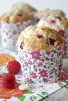 Witte chocolade frambozen muffins | HandmadeHelen