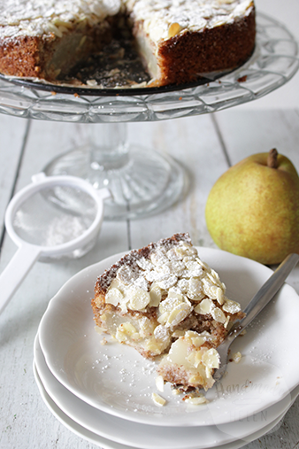 Amandel peren cake | HandmadeHelen