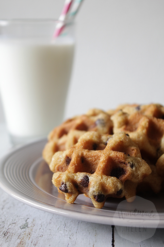 Chocolate chip wafeltjes| HandmadeHelen