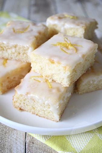 Citroen cake met glazuur | HandmadeHelen