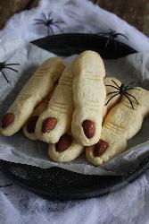 Zombie vinger koekjes | HandmadeHelen