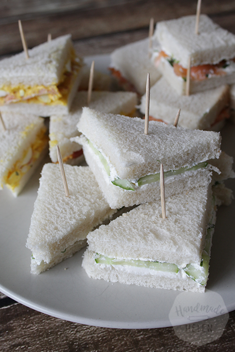 3x high tea sandwiches | HandmadeHelen