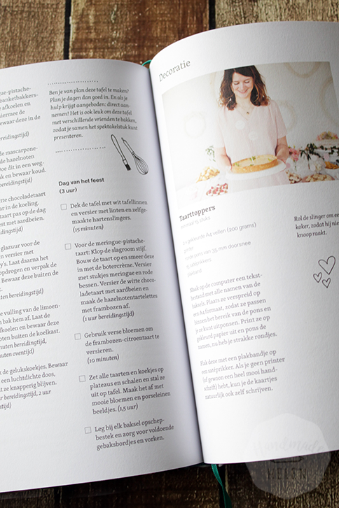 Review: Saakje's zoete bakboek | HandmadeHelen