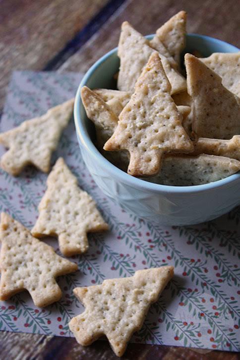 Knapperige kaas crackers | HandmadeHelen