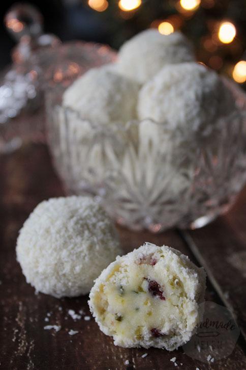 Sneeuwbal truffels | HandmadeHelen
