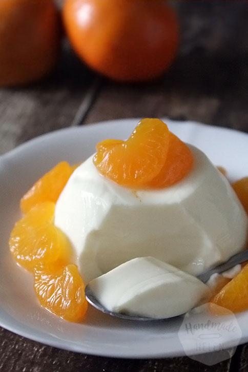 Panna cotta met mandarijnen | HandmadeHelen