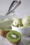 Kiwi ijs zonder ijsmachine